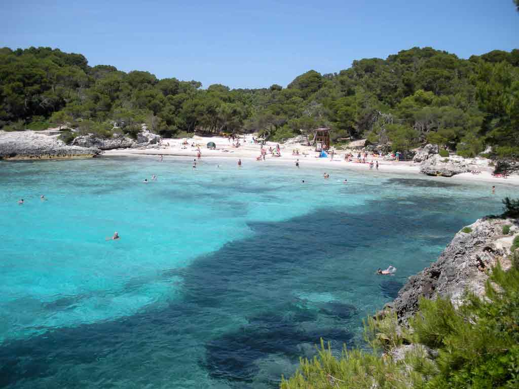 Пляж менорки Недвижимость в Испании
