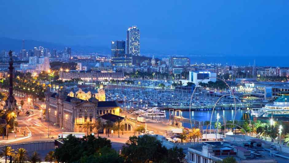 Фото порта Барселоны недвижимость в испании