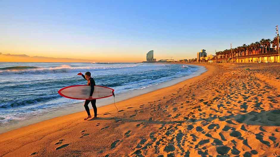 Пляж барселоны Недвижимость в Испании