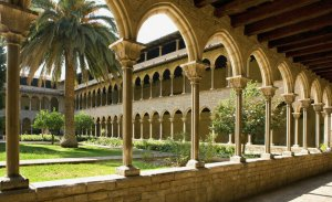 Barrio de Pedralbes Monasterio de Pedralbes