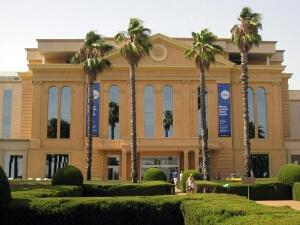 Imagen de la fachada de la Clinica Teknon. Una de las casas Pedralbes más espectaculares de zona alta Barcelona