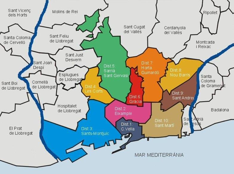 Comprar-pisos-de-lujo-en-Barcelona-distritos-de-la-ciudad