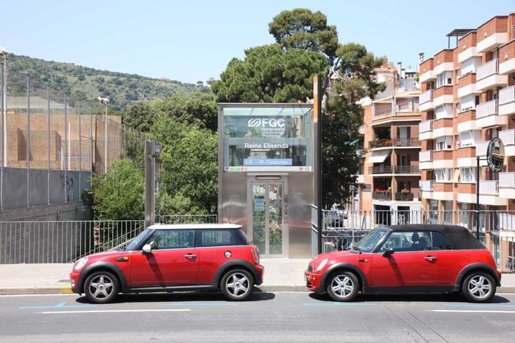 Comprar pisos de lujo en Barcelona estación Ferrocarriles Generalitat
