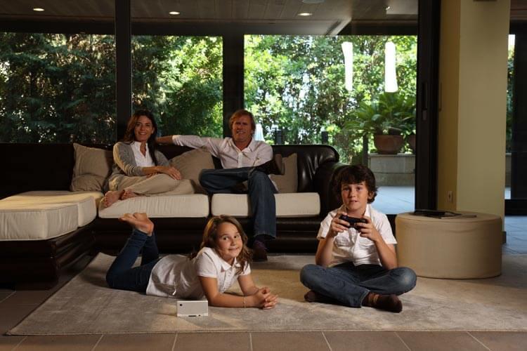 Comprar pisos de lujo en Barcelona salón comedor One Pedralbes House