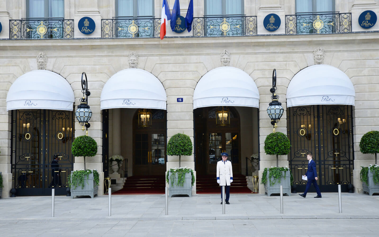 Hotel Ritz in Paris.