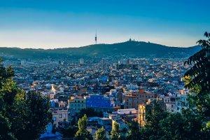 Vistas de las mejores zonas de Barcelona para vivir con familia