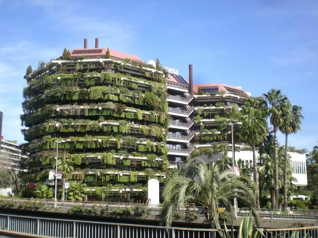 Недвижимость в Барселоне, Лес Кортс