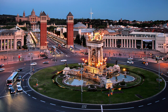 Монтжуик. Купить недвижимость в Барселоне