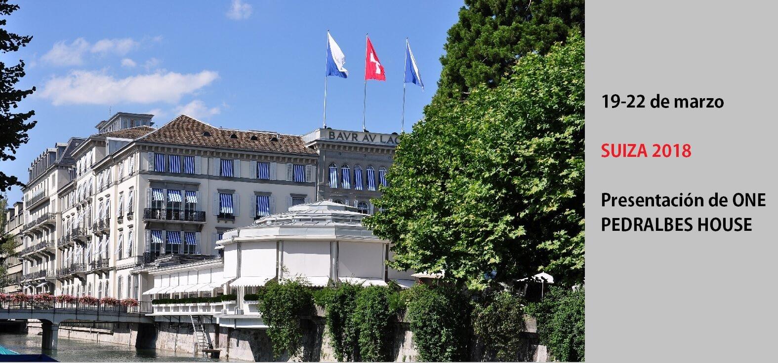 Eventos en Suiza. pisos de lujo en Barcelona