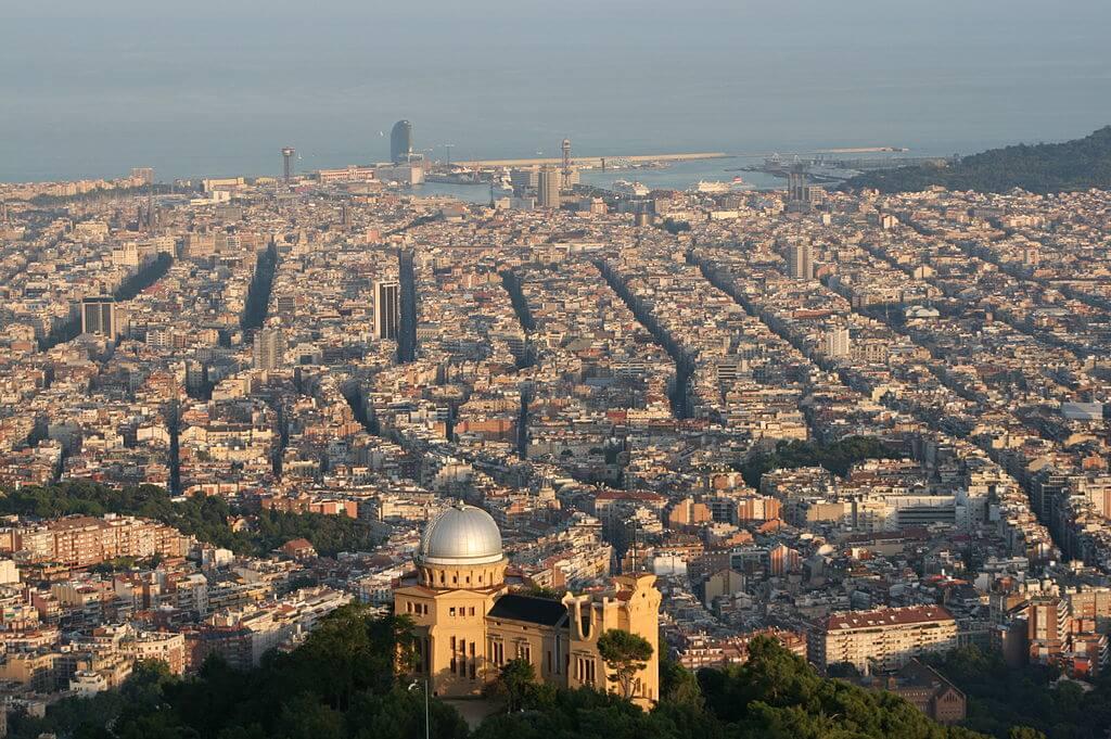 pisos alto standing barcelona vista desde Observatori Fabra