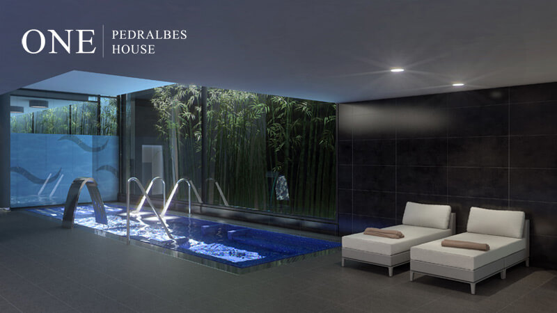 Pisos lujo Barcelona pisos de alto standing Barcelona One Pedralbes House pareja wellnes