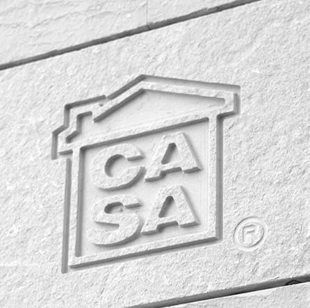 Pisos de lujo en Barcelona, logo CASA