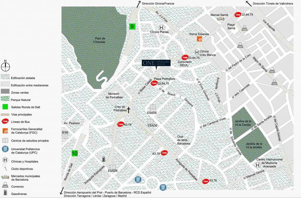 Las mejores zonas de barcelona para vivir con familia for Que altura de piso es mejor para vivir