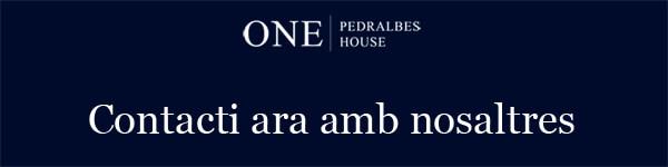 Pisos en Pedralbes viviendas en pedralbes One Pedralbes House contacti ara
