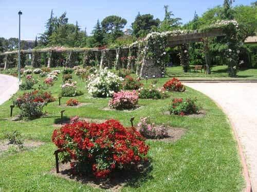 Pisos en Pedralbes, jardines del Parque de Cervantes