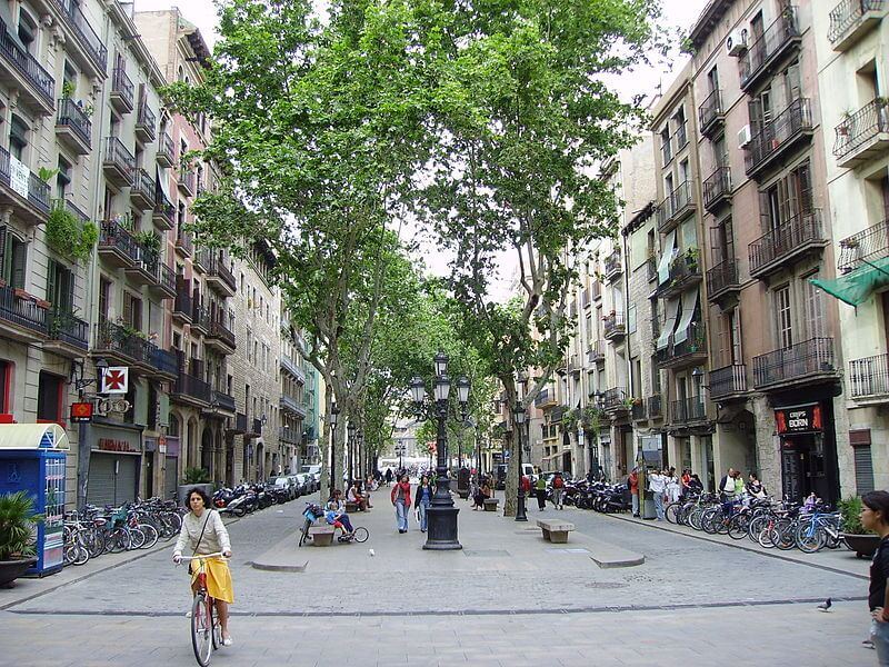 Rambla Барселона. Купить недвижимость в Барселоне