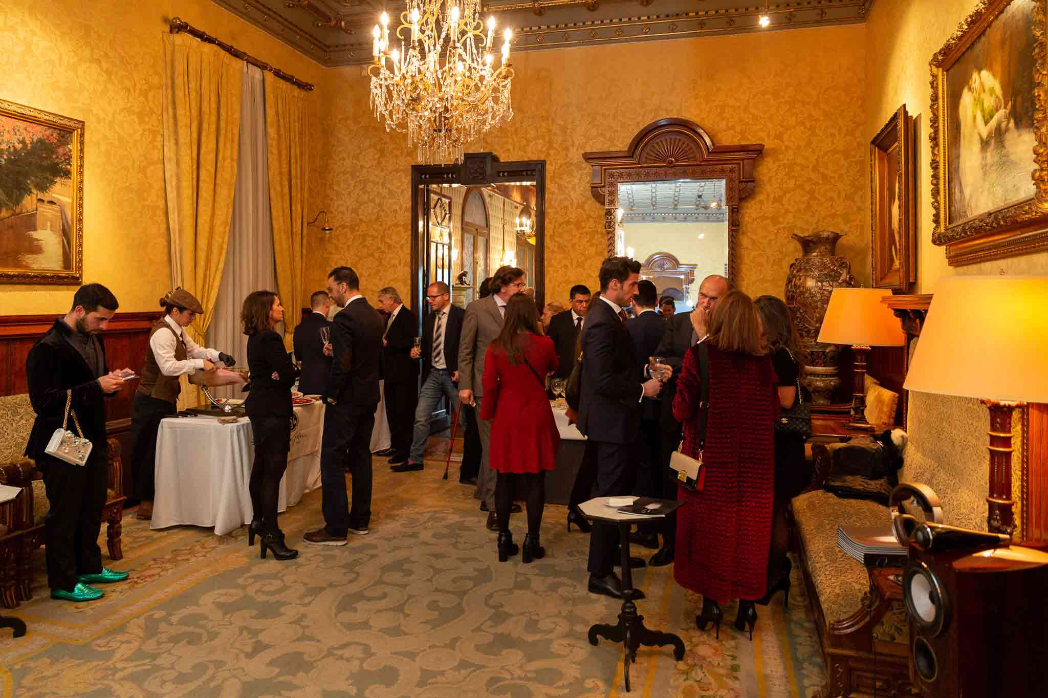 Circulo del Liceo event for luxury brands in Spain