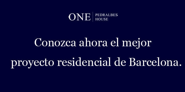 Viviendas lujo Barcelona Logo One Pedralbes House