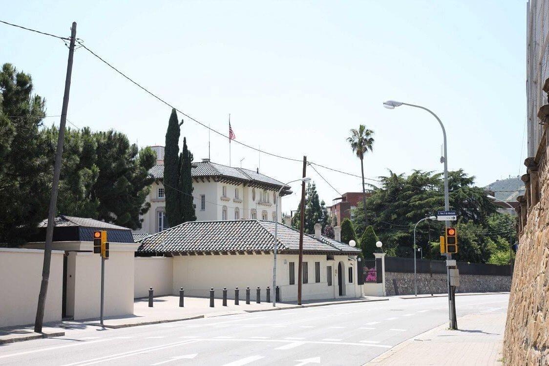 Pedralbes Barrio Consulado EEUU