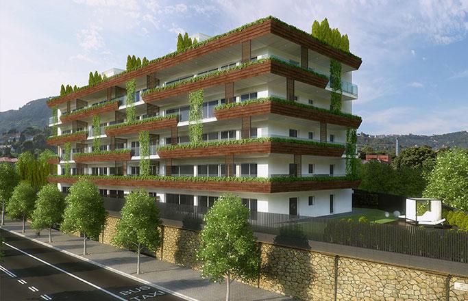 Luxury apartments Barcelona. New apartments Barcelona Pedralbes