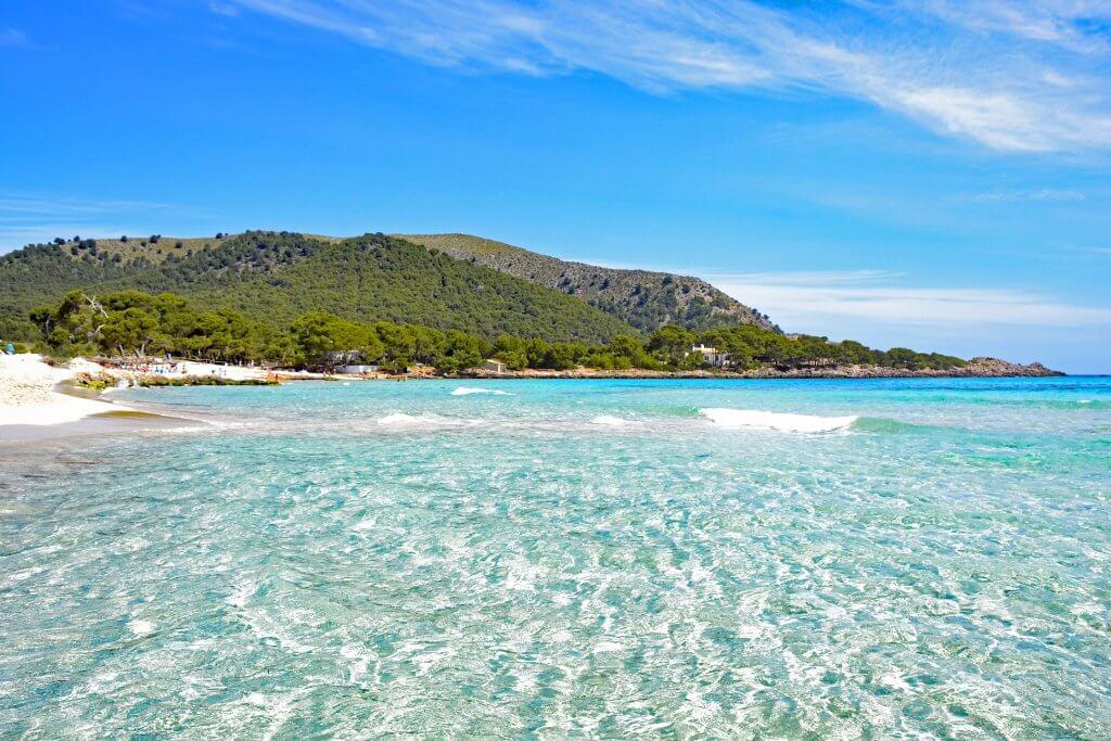 Недвижимость в Испании. Квартиры в Испании. Майорка, лучшие пляжи Испании.