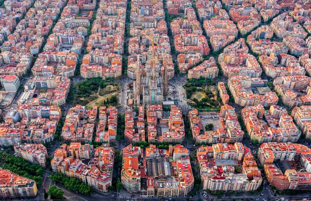 Eixample vivir con niños en Barcelona