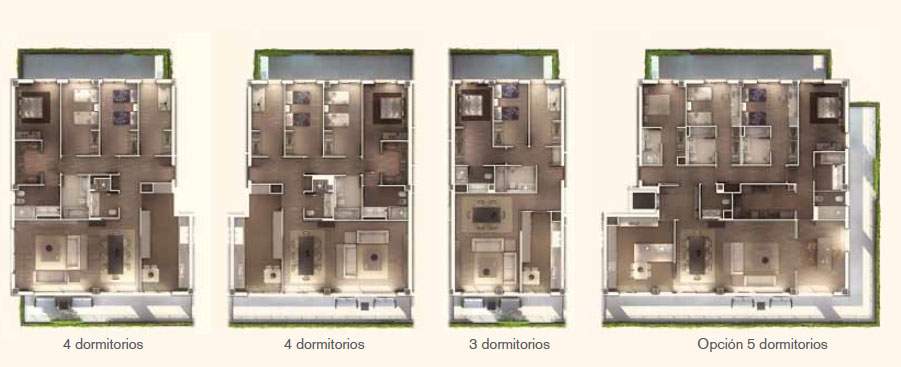 flat one pedralbes house