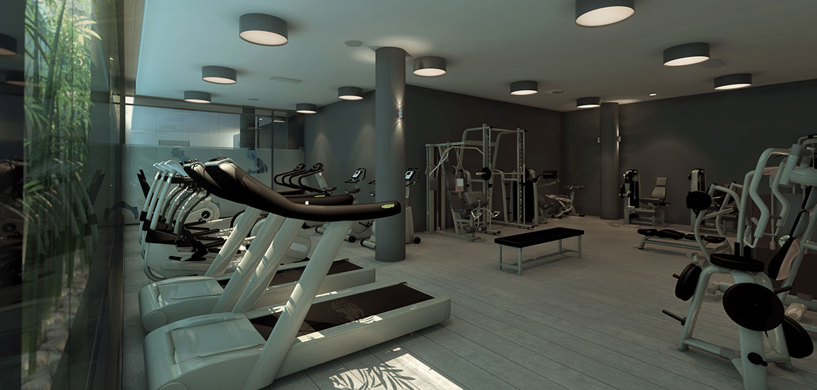 gimnasio one pedralbes house