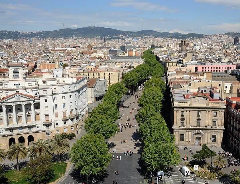Лас Рамблас. Купить недвижимость в Барселоне. Лучшие предложения недвижимости в Барселоне