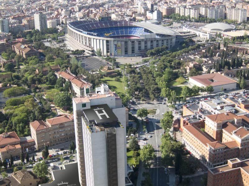 стадион Камп Ноу, недвижимость в Барселоне