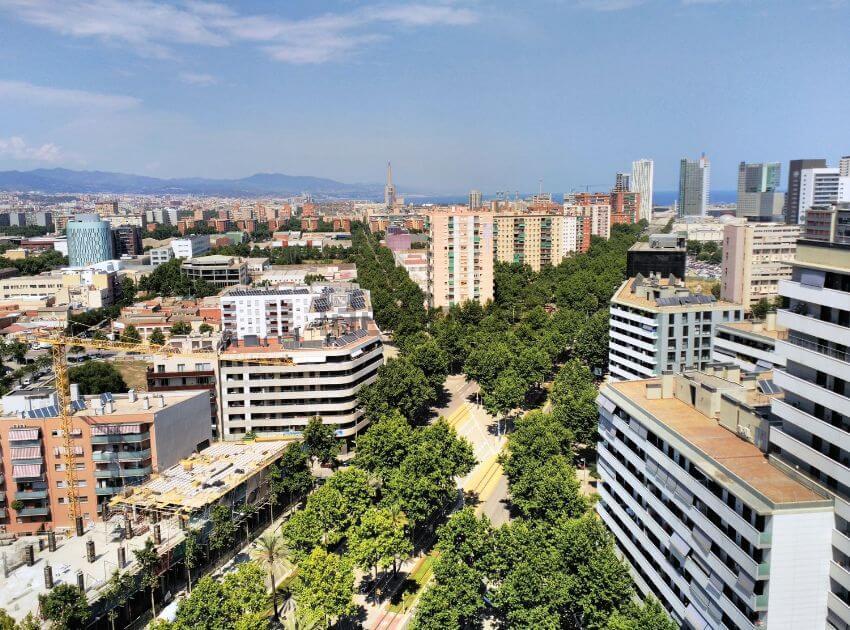 Недвижимость в Барселоне, Диагональ Мар