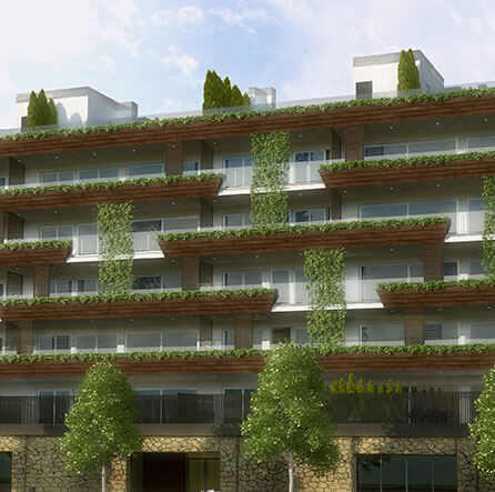 new building luxury apartments barcelona for sale