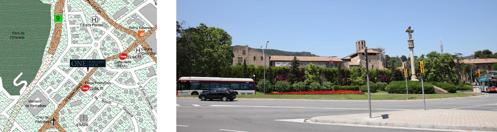 монастырь в Педральбесе. Элитная недвижимость в барселоне