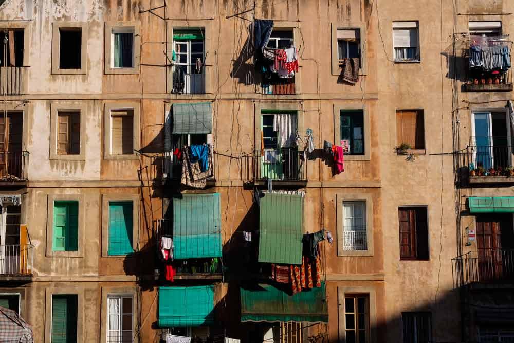 Zona baja de Barcelona