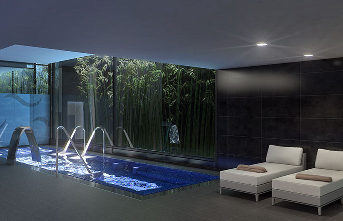 Wellness luxury real estate barcelona