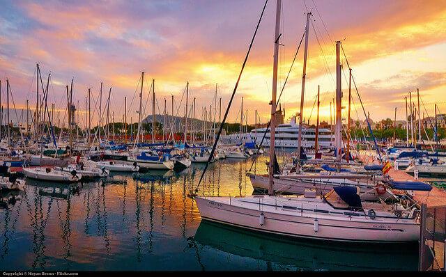 Порт Барселоны. Купить недвижимость в Испании Барселона