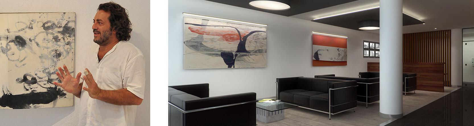 картины художника Ральф Бернабей. Элитная недвижимость в Барселоне